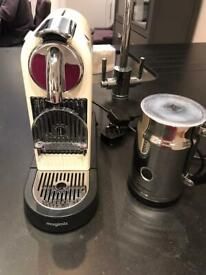 Nespresso Machine & Milk Frother