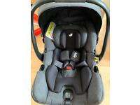 Joie I-Gemm car seat and isofix
