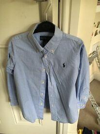 Boys designer Ralph Lauren shirt