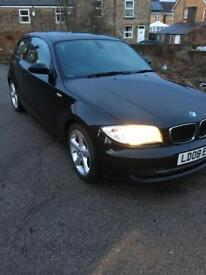 BMW 1 SERIES 11D 3 DOOR BLACK