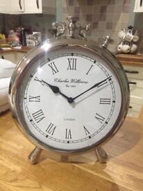 Charles Williams vintage freestanding clock - 35cm