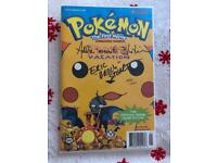 Pikachu's vacation signed & certificated limited edition