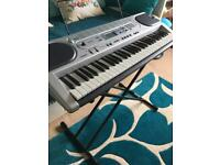 Casio LK45 keyboard with Key Lighting System +stand