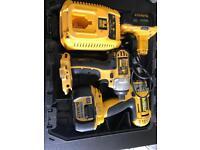 Dewalt 18volt DC988 & DC827 impact driver and drill