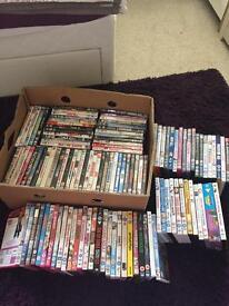 Massive joblot of 118 DVDs