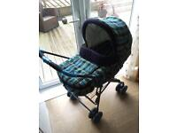 Mamas and papas 3 in 1 pram pushchair carry cot