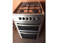 Beko stainless gas cooker, fully working, can deliver