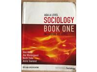 AQA A-level Sociology Book One Including AS level