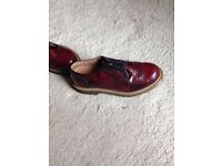 OFFICE LADIES OX BLOOD BROGUES SIZE 37