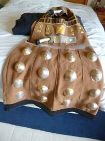 Book Day March 1st. Dalek Fancy Dress fits 7-8 years - Shipley