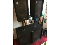Smart sound 1500watts speaker system