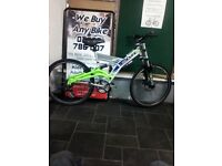 As New Condition Gate Crasher CBR Dual Suspension Mountain Bike