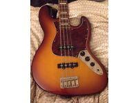 Bluerock Jazz Bass Guitar CHEAP