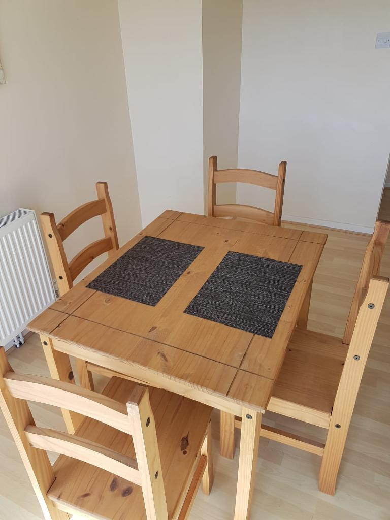 wooden small kitchen/dining table for sale | in