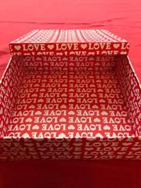 Love cardboard box.