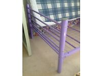 Single bed frame x 2 suitable for kids room etc.