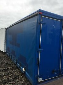 2012 19FT CURTAIN SIDE BODY WITH REAR BARN DOORS