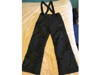 Boys ski trousers & thermals