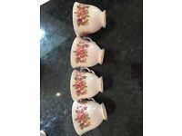 Bone china tea set (Colclough)