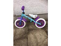 Kids balance bike (frozen)