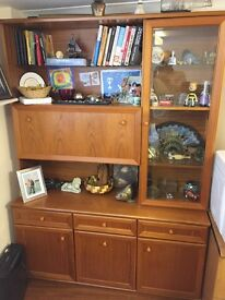 Wooden Display Unit or Bar Cabinet