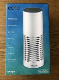 Amazon Echo Smart Assistant - White