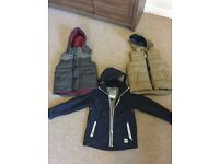 Boys coat and gilet