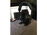 Turtle beach airforce Xp510 wireless headphones in excellent condition swap jack plug headphones