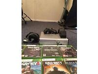 Xbox 360 halo limited edition with games
