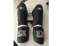 Martial arts Shin/instep pads size S/M
