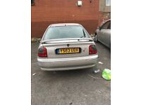 Rover 45 | 10 Months Mot Available