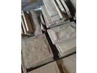 Dressed stone cladding