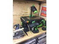 Cel power8 Lithium 18v cordless workshop