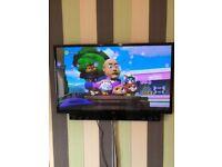 Television (55 inch) and Soundbar