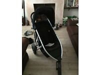 Phil&Teds vibe Double pram (can be single). inc baby carrier, sun shade, rain cover. Immaculate