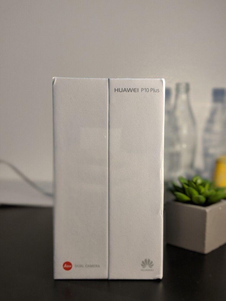 Brand New Huawei P10 Plus Graphite Black (128GB)