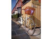 Fully working vintage ladies bike – restored 1977 Triumph Traffic Master bicycle (film prop grade)