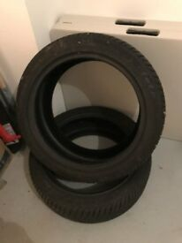 2 TYRES SUITABLE FOR AUDI Q5 - 7MM TREAD