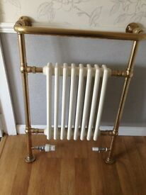 Victorian bathroom radiator.