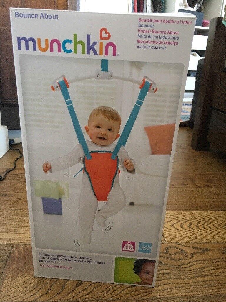 caf546778 Munchkin baby door bouncer