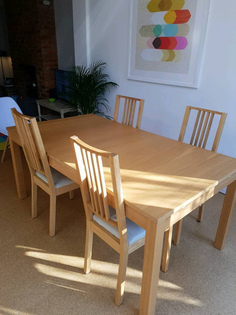 Free Ikea Extending Table And Chairs