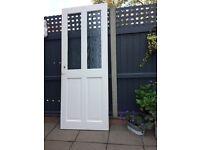 "Internal glazed door . 30x 78 "" FREE"