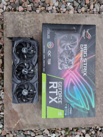 Asus ROG RTX2080ti OC edition 11GB GDDR6 graphics card