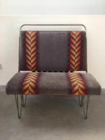 Retro Bus Seat Bench