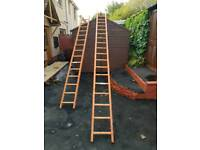 Brand new pole ladders one 4mtr one 5mtr RRP £200 selling both for £100 ono