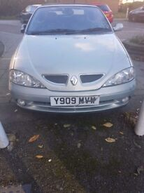 Renault Megan Convertible Bargain Open to near offers
