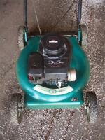 Push lawn mower  Fresh tune UP &OIL CHANGE !!  $80