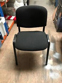 Black Frame Fabric Chair // ISO Used 16 available