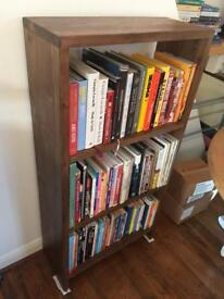Handmade solid wood bookcase