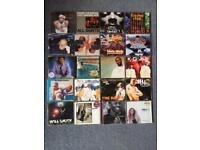 80+ cd singles mostly 90s US and UK r&b and hip hop